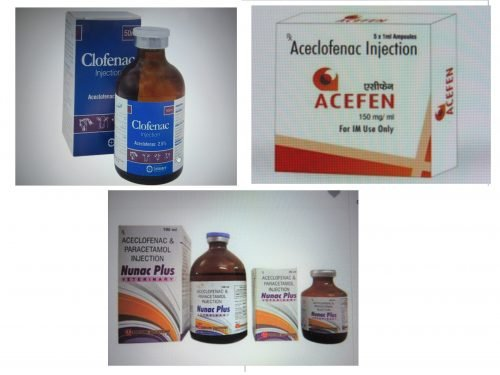 Aceclofenac vials widely available - a potential new threat.